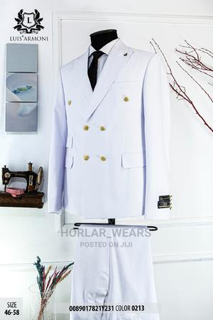 White Double Breasted Suit for Men | Clothing for sale in Lagos State, Lagos Island (Eko)