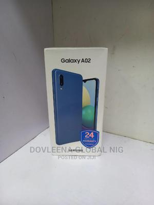 New Samsung Galaxy A02 64 GB Blue   Mobile Phones for sale in Lagos State, Ikeja