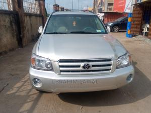 Toyota Highlander 2006 Limited V6 4x4 Silver | Cars for sale in Lagos State, Surulere