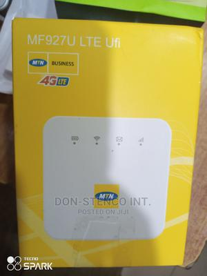MTN Mf927 Ufi 4G Lte Mobile Wifi   Networking Products for sale in Lagos State, Ikeja