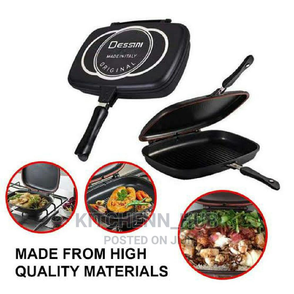 36cm Dessini Double Sided Grill Pan   Kitchen & Dining for sale in Asokoro, Abuja (FCT) State, Nigeria