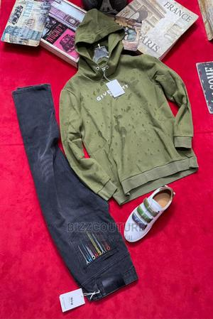 High Quality GIVENCHY Green Hoodies Available for Sale   Clothing for sale in Lagos State, Ikoyi