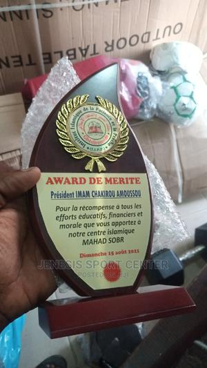 Wooden Award Plaque 570 | Sports Equipment for sale in Lagos State, Ikeja