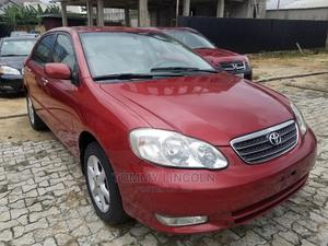 Toyota Corolla 2005 Sedan Automatic Red | Cars for sale in Rivers State, Port-Harcourt