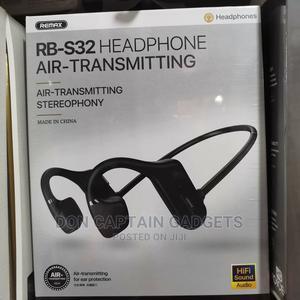 Remax RB-S32 Bluetooth Bone Conduction Headphone   Headphones for sale in Lagos State, Ikeja