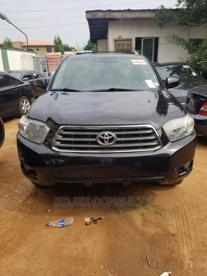 Toyota Highlander 2009 Limited 4x4 Black   Cars for sale in Lagos State, Ikeja