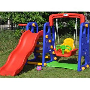 Children Slide, Swing With Basketball. 3 in 1 . | Toys for sale in Lagos State, Lagos Island (Eko)