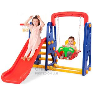 Children 3 in 1 Slide, Swing and Basketball. | Toys for sale in Lagos State, Lagos Island (Eko)