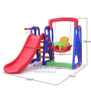 Slide, Swing and Basketball.3 in 1   Toys for sale in Lagos State, Lagos Island (Eko)