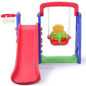 3 in 1 Slide Swing and Basketball.   Toys for sale in Lagos State, Lagos Island (Eko)