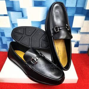 Clarks, Salvatore Ferragamo,LV Original Leather Loafers Shoe | Shoes for sale in Lagos State, Lagos Island (Eko)