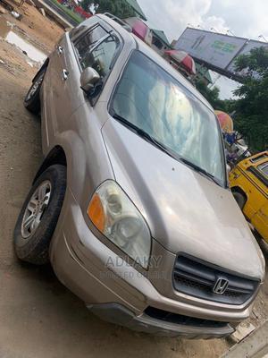 Honda Pilot 2004 EX 4x4 (3.5L 6cyl 5A) Brown | Cars for sale in Lagos State, Ikorodu