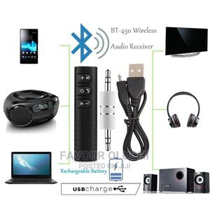 Wireless Bluetooth Audio Receiver BT-450   Audio & Music Equipment for sale in Lagos State, Ikotun/Igando