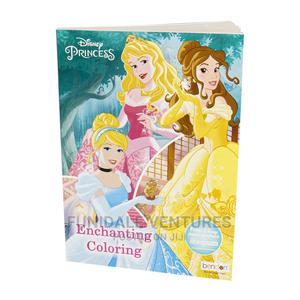 Disney Princess Colouring and Activity Book With Stickers   Books & Games for sale in Lagos State, Surulere