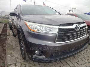 Toyota Highlander 2016 XLE V6 4x4 (3.5L 6cyl 6A) Gray | Cars for sale in Lagos State, Lekki