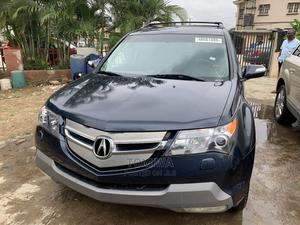 Acura MDX 2009 SUV 4dr AWD (3.7 6cyl 5A) Blue   Cars for sale in Lagos State, Ifako-Ijaiye