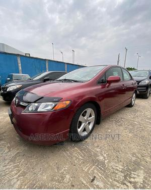 Honda Civic 2007 1.8 Red | Cars for sale in Lagos State, Ikeja