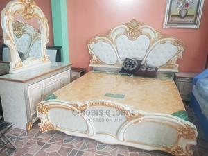 Executive Royal Bed With Side Drawer and Dressing Mirror   Furniture for sale in Lagos State, Ikeja