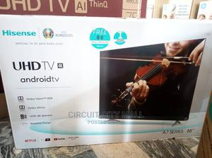 Hisense 55 Inches 4K UHD Smart Android TV   TV & DVD Equipment for sale in Abuja (FCT) State, Wuse