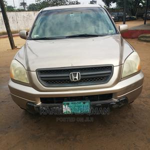 Honda Pilot 2003 EX 4x4 (3.5L 6cyl 5A) Gold | Cars for sale in Rivers State, Khana