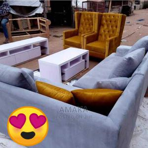 Simple Curve Sofa by 7 Seater   Furniture for sale in Lagos State, Victoria Island