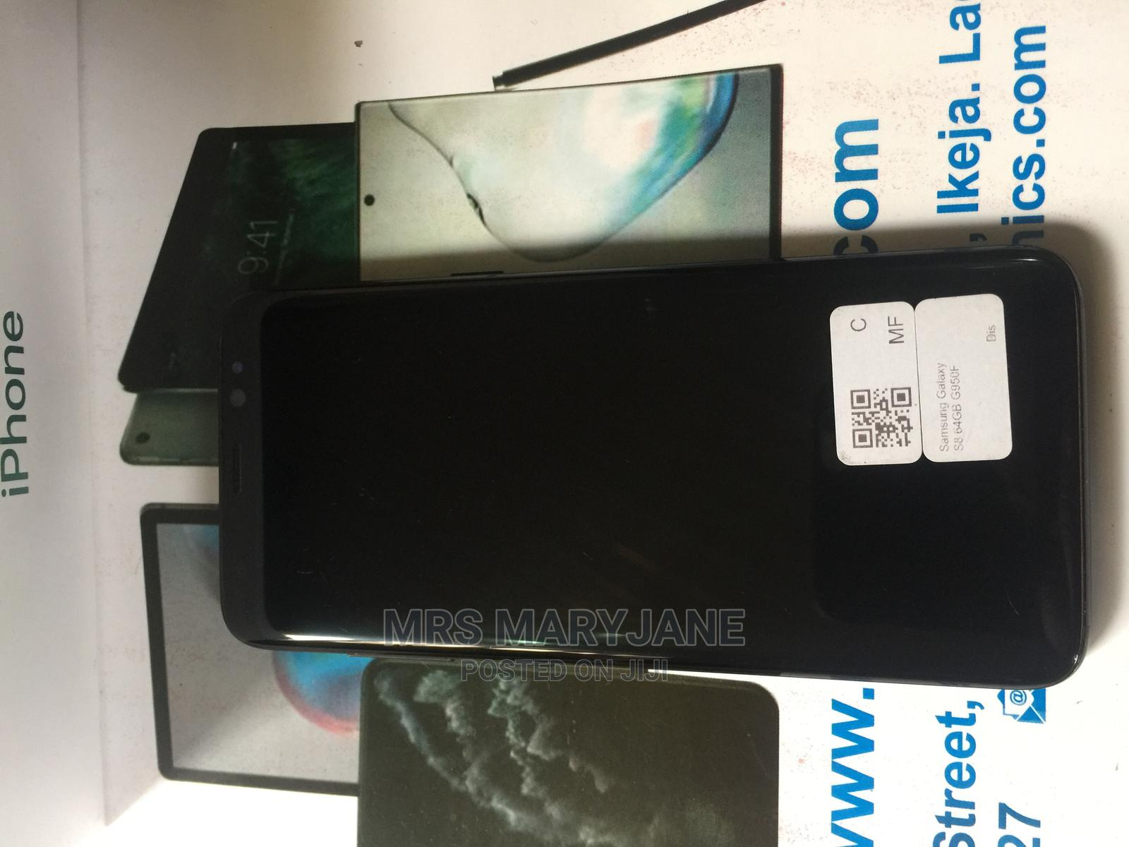 Samsung Galaxy S8 64 GB Black | Mobile Phones for sale in Apo District, Abuja (FCT) State, Nigeria