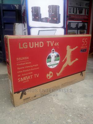 LG 55 Inches Smart LED 4K Uhd TV | TV & DVD Equipment for sale in Lagos State, Surulere