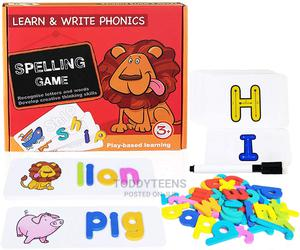 Educational Toys, Alphabet Learning Writing Flash Cards Game | Toys for sale in Lagos State, Ajah