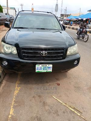 Toyota Highlander 2003 Base AWD Black   Cars for sale in Delta State, Ika South