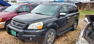 Honda Pilot 2004 EX-L 4x4 (3.5L 6cyl 5A) Black | Cars for sale in Kaduna State, Kaduna / Kaduna State