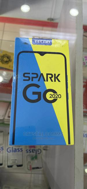 New Tecno Spark Go 2020 32 GB Blue   Mobile Phones for sale in Lagos State, Isolo
