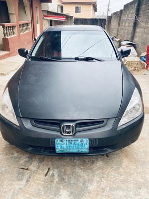 Honda Accord 2005 Sedan LX V6 Automatic Matt Black | Cars for sale in Lagos State, Ojodu