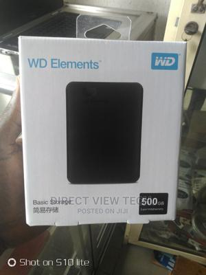 500GB WD Elements External Hard Drive   Computer Hardware for sale in Lagos State, Ikeja