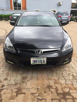 Honda Accord 2005 Sedan LX Automatic Black | Cars for sale in Abuja (FCT) State, Gwagwalada
