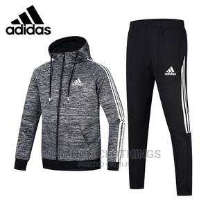 Quality Hooded Adidas Tracksuit | Clothing for sale in Lagos State, Abule Egba