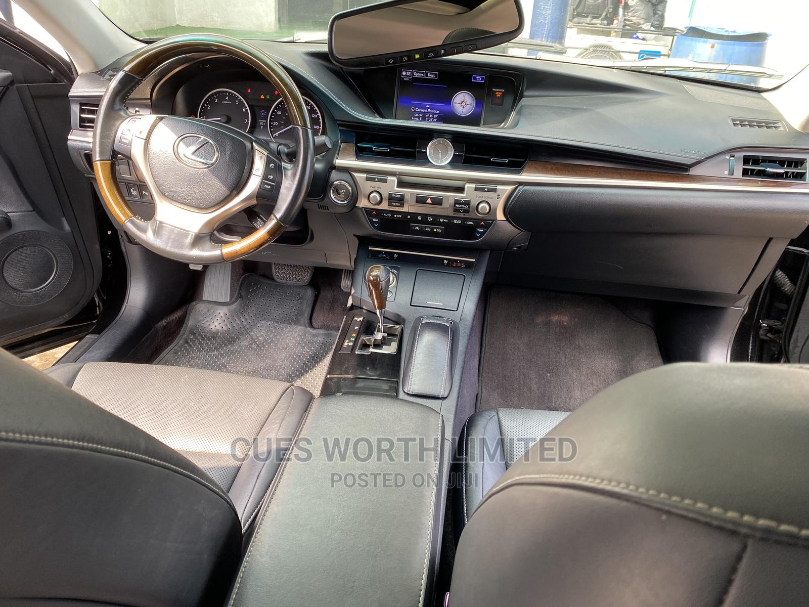 Lexus ES 2015 350 FWD Black | Cars for sale in Ikeja, Lagos State, Nigeria