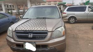 Honda Pilot 2004 Gold | Cars for sale in Oyo State, Egbeda