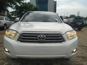 Toyota Highlander 2008 Limited 4x4 White   Cars for sale in Abuja (FCT) State, Central Business District