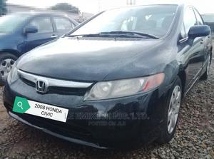 Honda Civic 2008 Black | Cars for sale in Abuja (FCT) State, Nyanya
