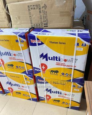 220ah Multipower Solar Battery | Solar Energy for sale in Edo State, Benin City