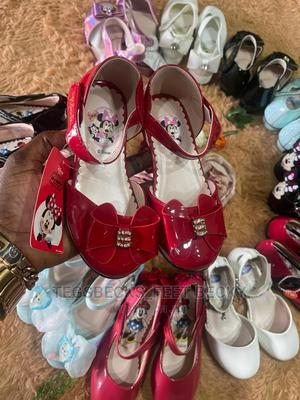 Beautiful Red Shoe For Girls   Children's Shoes for sale in Abuja (FCT) State, Apo District