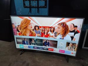 """55"""" Inches Samsung Smart Uhd 4k Hdr Curved Screen Tv{ RU7300 