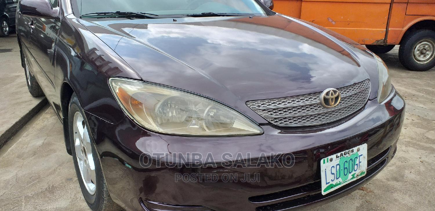 Archive: Toyota Camry 2003 Brown