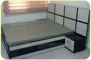 6 by 6 Quality Bed Frame With Bed Side   Furniture for sale in Lagos State, Ikeja