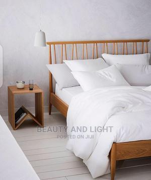 Modern Wooden Bedframe | Furniture for sale in Rivers State, Port-Harcourt