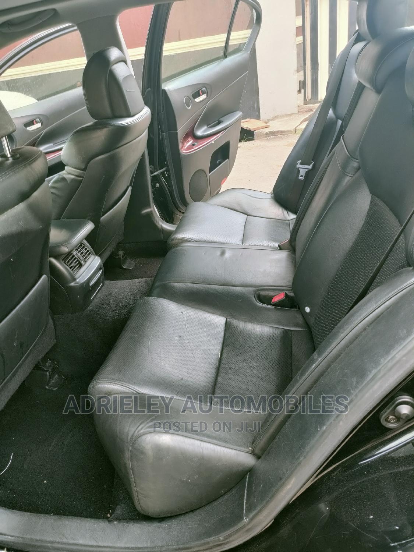 Lexus GS 2007 350 Black | Cars for sale in Shomolu, Lagos State, Nigeria
