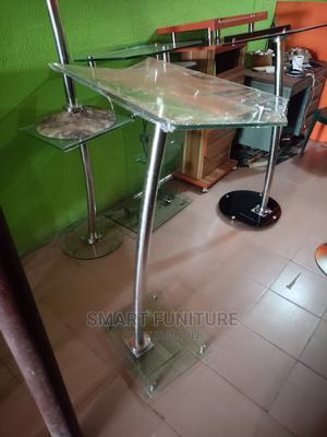 High Class One Pole Glass Pulpit   Furniture for sale in Lagos State, Ikeja