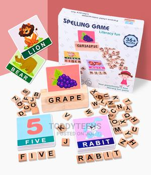 Literacy Learning Fun Wooden Word Spelling Game Board   Toys for sale in Lagos State, Ajah