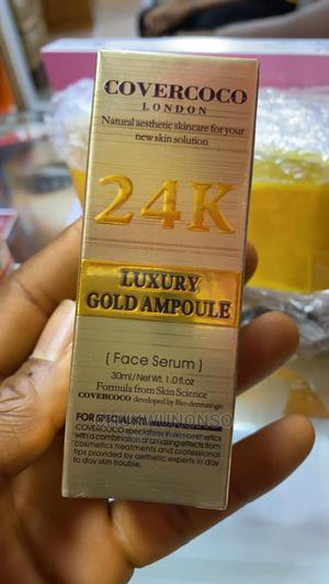 Couercoco London 24k Luxury Gold Ampoule Face Serum   Skin Care for sale in Lagos State, Amuwo-Odofin