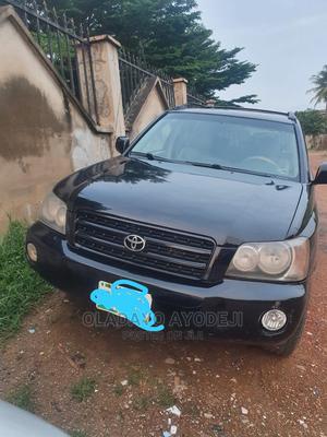 Toyota Highlander 2004 V6 FWD Black   Cars for sale in Oyo State, Ibadan